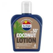 LE TAN COCONUT LOTION SPF50+ 125ML