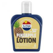 LE TAN PINEAPPLE LOTION SPF50+ 125ML