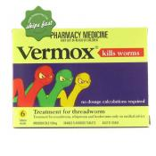 VERMOX TABLETS 6