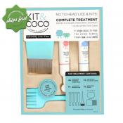 KIT AND COCO NATURALLY LICE FREE COMPLETE TREATMENT 4X 25ML