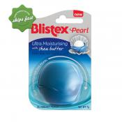 BLISTEX PEARL ULTRA MOISTURISING SHEA BUTTER BLUEBERRY PEACH LIP BALM 7G