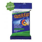 QUICK EZE RAPID RELIEF 3 CHEWY PEPPERMINT PACKS x 8