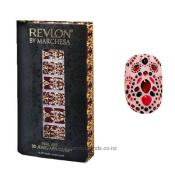 REVLON BY MARCHESA 3D JEWEL APPLIQUES 18 EVENING GARNET