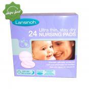LANSINOH ULTRA THIN STAY DRY 24 NURSING PADS