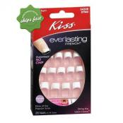 KISS NAILS EVERLASTING FRENCH MEDIUM LENGTH PINK 28s
