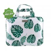 WICKED SISTA GREENERY LARGE HOLD ALL COSMETIC BAG