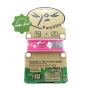 PARAKITO MOSQUITO REPELLENT BRACELET BAND (Special buy online only)