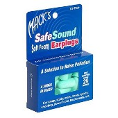 MACKS EARPLUGS SAFE SOUND FOAM 10pr