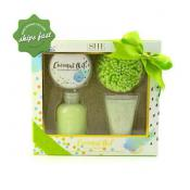 SHE AROMATHERAPY COCONUT OIL PAMPER SET LIME