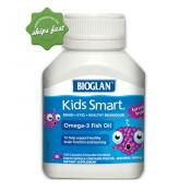 BIOGLAN KIDS SMART OMEGA 3 FISH OIL 50 SOFT CHEWABLE BURSTLETS