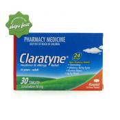 CLARATYNE TABLETS 10MG 30