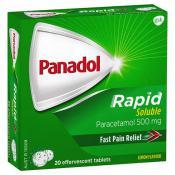 Panadol Rapid Soluble 20 Tablets