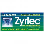Zyrtec Tablets 10