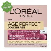 LOREAL AGE PERFECT GOLDEN AGE ROSY RE DENSIFYING DAY CREAM 50ML (Special buy online only)