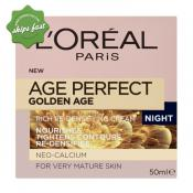 LOREAL AGE PERFECT GOLDEN AGE RICH RE DENSIFYING NIGHT CREAM 50ML (Special buy online only)