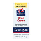 NEUTROGENA FRAGRANCE FREE HAND CREAM 56G