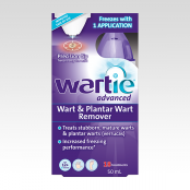 WARTIE ADVANCE WART AND PLANTAR WART REMOVER 50ML