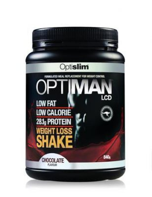 OPTISLIM OPTIMAN SHAKES CHOCOLATE 840G
