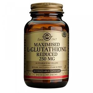 Solgar Maximised L-Glutathione 250mg 60 Capsules