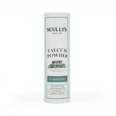 SCULLY'S GARDENIA TALCUM POWDER 130GM