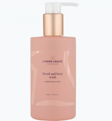 Linden Leaves Clementine & Basil Hand & Body Wash 300ml