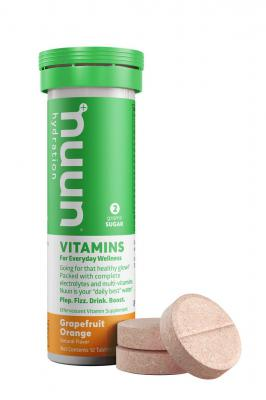 Nuun Vitamin Effervescent Tablets Grapefruit Orange 12