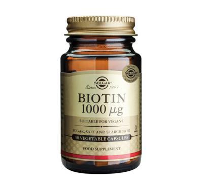 SOLGAR BIOTIN 1000MCG 50