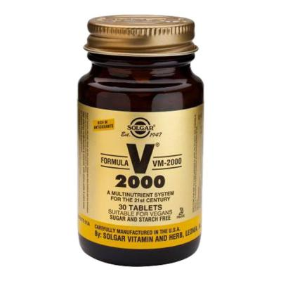 Solgar VM 2000 Multi Vitamin 30 Tablets