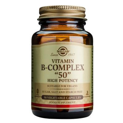 SOLGAR FORMULA B-COMPLEX 50