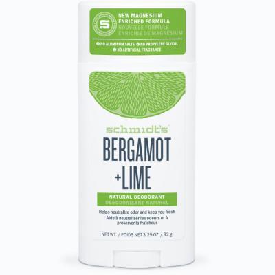 Schmidt's Deodorant Stick Bergamot Lime 75g