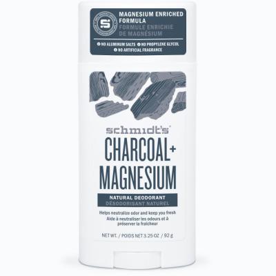 Schmidt's Deodorant Stick Charcoal Magnesium 75g