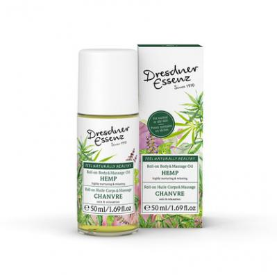 Dresdner Roll On Body & Massage Oil Stress Relief 50ml