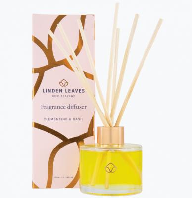 Linden Leaves Clementine & Basil Fragrance Diffuser 100ml