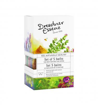 Dresdner Bath Salt 60g Gift Set 5 Piece