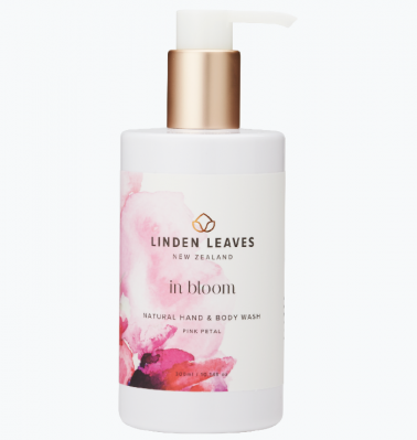 Linden Leaves In Bloom Hand & Body Wash Pink Petal 300ml
