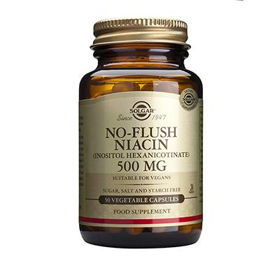 SOLGAR NO FLUSH NIACIN 500MG 50