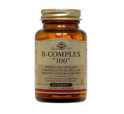 Solgar B Complex 100 Capsules