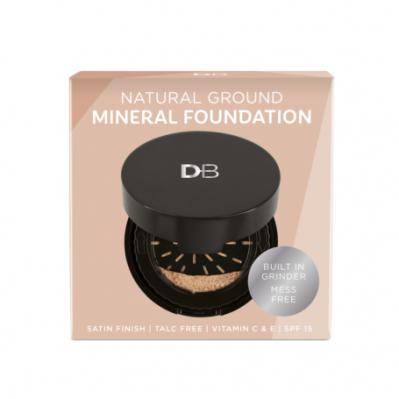 Designer Brands Natural Ground Minerals Foundation Light