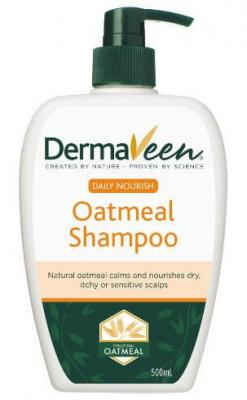 DERMAVEEN DAILY NOURISH OATMEAL SHAMPOO 500ML