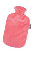 Fashy Hot Water Bottle Plush Coral 2 Litre