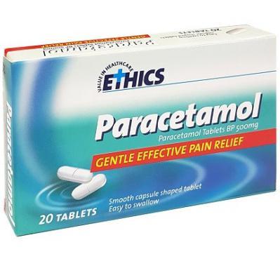 Ethics Paracetamol 500mg 20 Tablets
