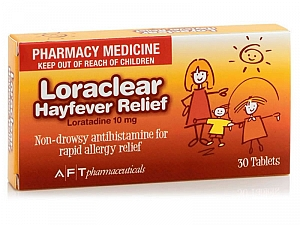 Loraclear Allergy Relief 30 Tablets