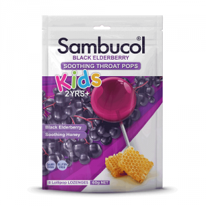 Sambucol Kids Soothing Throat Pops 8
