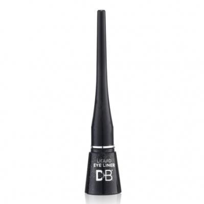 Designer Brands Liquid Eyeliner Glitter Black Silver
