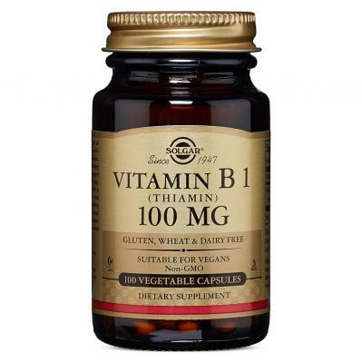 SOLGAR VITAMIN B1 100MG 100 CAP