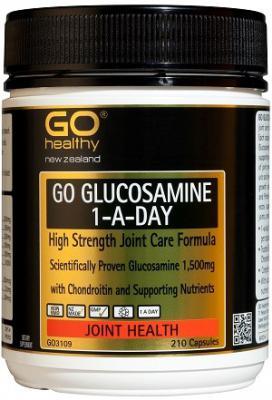 GO GLUCOSAMINE 210 CAPSULES
