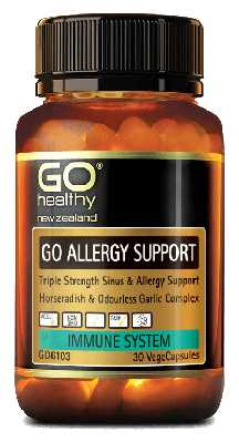 Go Healthy Allergy Support 60 Capsules