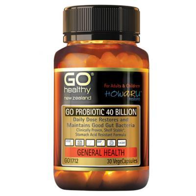GO Probiotic 40 Billion 30 Capsules