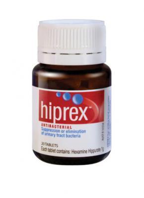 Hiprex Tablets 20