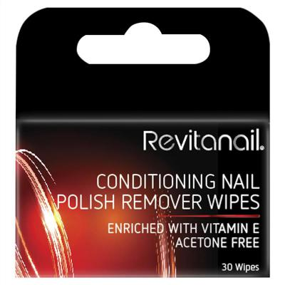 Revitanail Conditioning Remover 30 Wipes